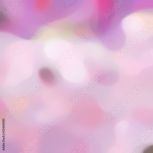 Fototapeta blurred iridescent square format background bokeh graphic with thistle, pale violet red and pastel violet colors and space for text or image obraz na płótnie