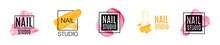 Vector Logo Of Nail Care Studi...
