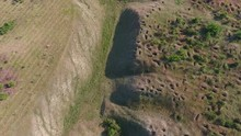 Aerial Shot Of Dnipro Basin Wi...