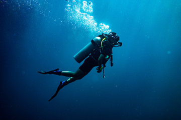 Scuba diving safety stop