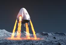 Private Spacecraft Module Land...