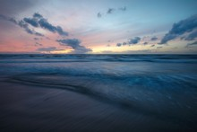Stunning Sunset Sky Above The ...
