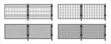 Metal Fence. Rabitz. Grid Meta...