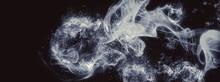 抽象的な煙