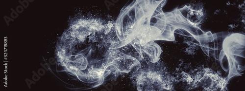 抽象的な煙 Obraz na płótnie