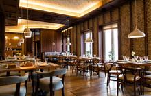 Interior Of The Chinese Restau...