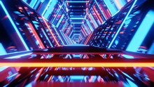 Tunnel In Space Ship, Technolo...