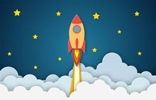 Rocket For Startup Business Pr...