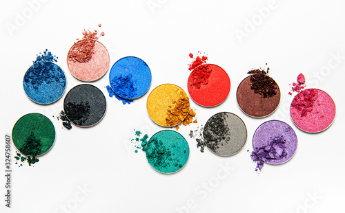 Tablou Canvas Assorted colors eyeshadow