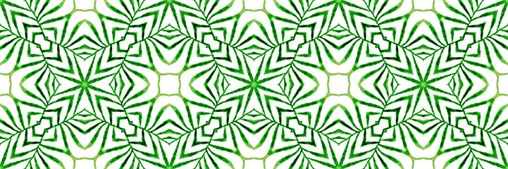 Panel Szklany Do kuchni Exotic greenery seamless pattern. Summer exotic