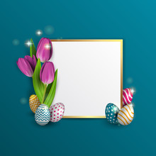 Easter Frame For Text, With A ...