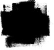 Grunge Brush Strokes Banner Background
