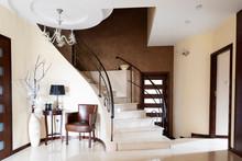 Modern Interior Of Marble Stai...