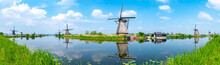 Panorama Of The Windmills And ...