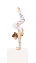 Acrobat Doing Gymnastics, A Yo...