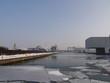 Kanalhafen Dortmund im Winter