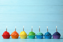 Delicious Birthday Cupcakes Wi...