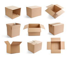 Box Package Delivery Cardboard...