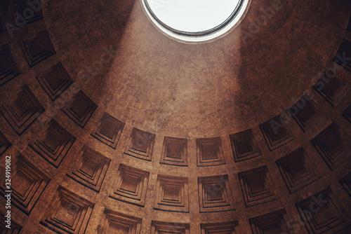 Summer scenes in the city of Rome Fototapet