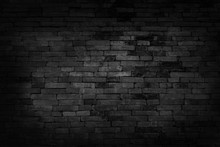 Black Brick Walls That Are Not...