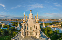 Aerial View Of The Smolny Cath...