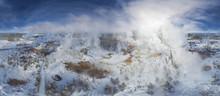 Panoramic Aerial View Of Grand...