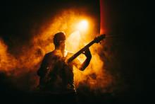 Guitarist Guitar Player On Sta...