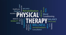 Physical Therapy Word Cloud On...