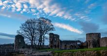Barnard Castle Silhouette