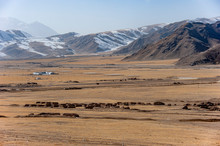 Scenery In Xinjiang, Silk Road. China.