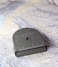 Compass Austrian Military On Map Background