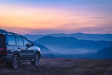 SUV Travels In The Carpathians