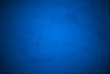 Grunge Of Blue Concrete Wall F...