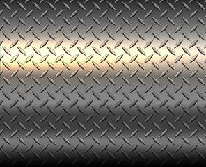 Metallic silver diamond metal texture