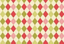 Seamless Pattern With Argyle B...