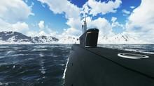 Russian Nuclear Submarine Bore...