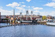 Ship At Charlestown Peninsula ...
