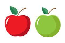Apple Icon, Vector Design, Juicy