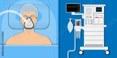 anaesthesia medical surgery operation intensive care unit Canvas Print