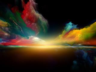 Fototapeta Wschód / zachód słońca Colorful Dreamland