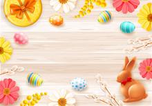 Background Or Frame For Easter...