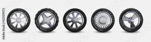 Photo Realistic tires set