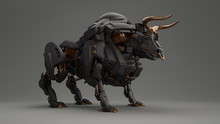 3D Composite Illustration Of A...