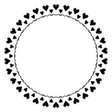 Ink Abstract Circle Pattern Ma...