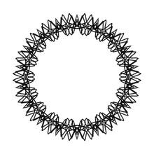 Abstract Circle Pattern Mandal...