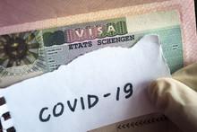 Coronavirus Concept. Note COVI...