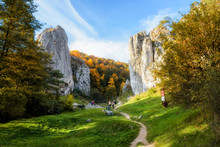 Bolechowice Valley In Poland, ...