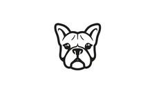 Creative French Bulldog Head L...