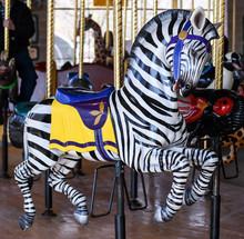 Vintage Carousel Ride Animal