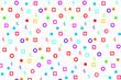 geometric fun pattern background